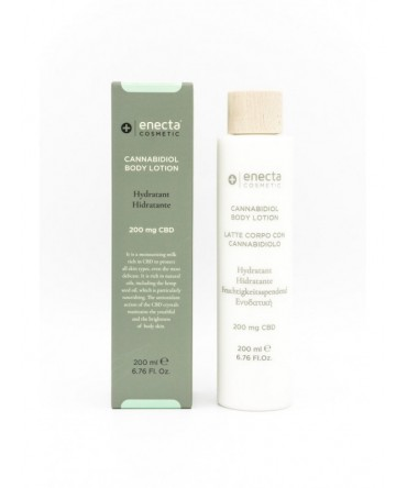 Enecta Facial cleansing lotion with cannabidiol