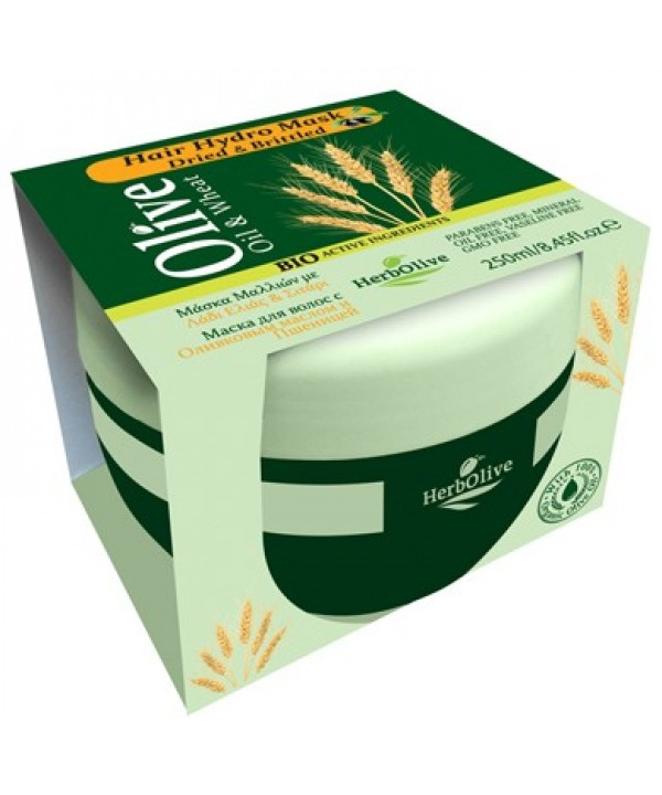 Herbolive Hair Hydro Mask With Wheat