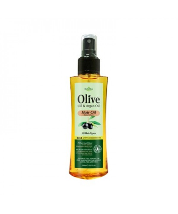 Herbolive Hair Oil With Argan Oil