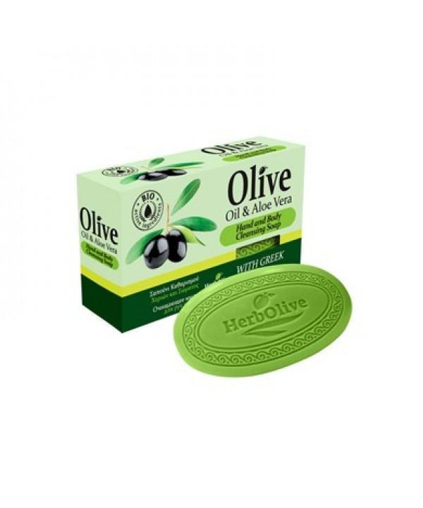 Herbolive Bridge Soap With Aloe Vera