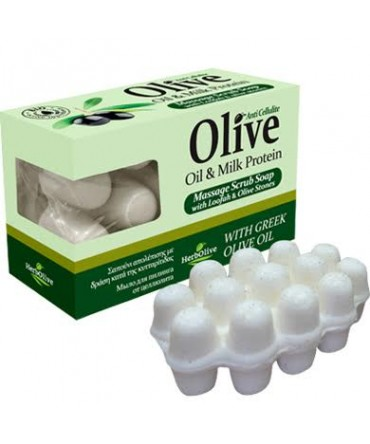 Herbolive Massage Soap With Milk Protein