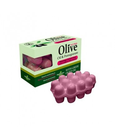 Herbolive Massage Soap With Pomegranate