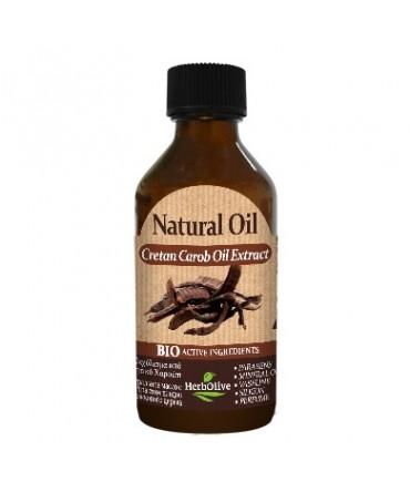 Herbolive Natural Cretan Carob Extract Oil