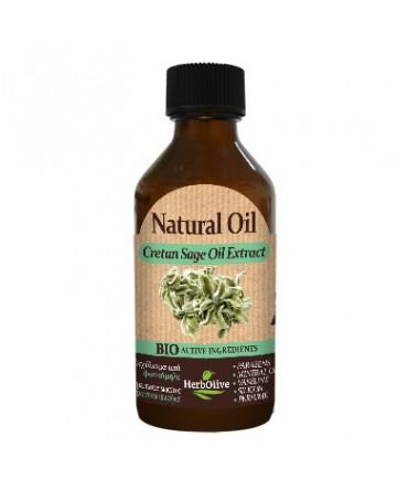 Herbolive Natural Cretan Sage Extract Oil