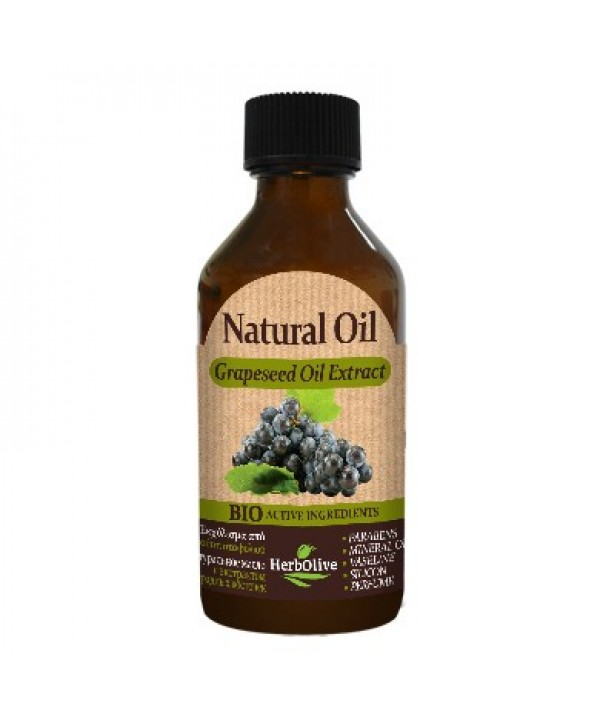 Herbolive Natural Grapeseed Extract Oil