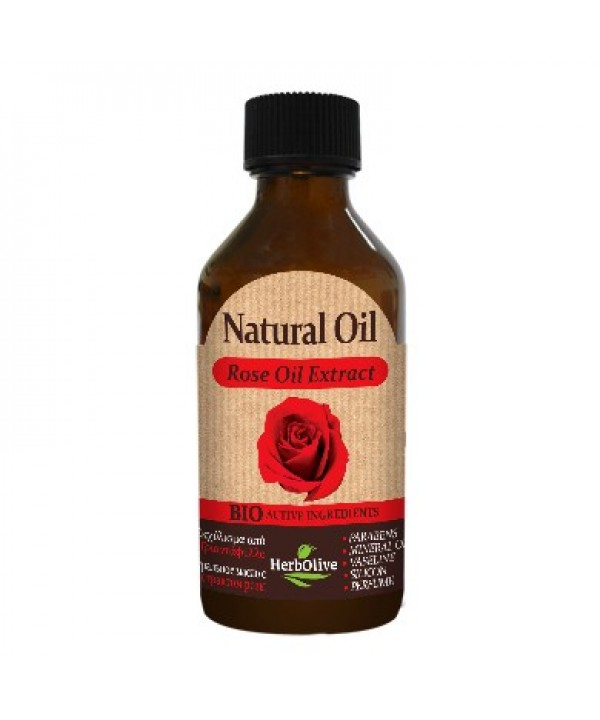 Herbolive Natural Rose Extract Oil