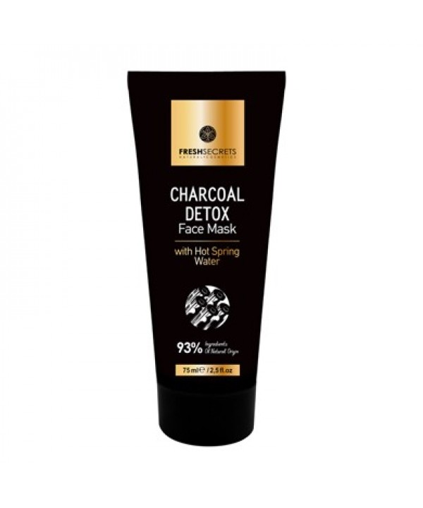 Fresh Secrets Face Mask Detox With Charcoal and Hot Spring Water