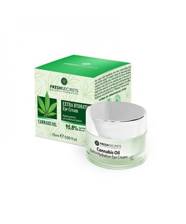 Fresh Secrets Eye Cream Extra Hydration With Cannabis Oil
