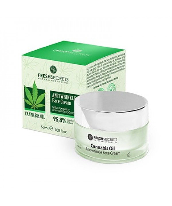 Fresh Secrets Face Cream Antiwrinkle With Cannabis Oil