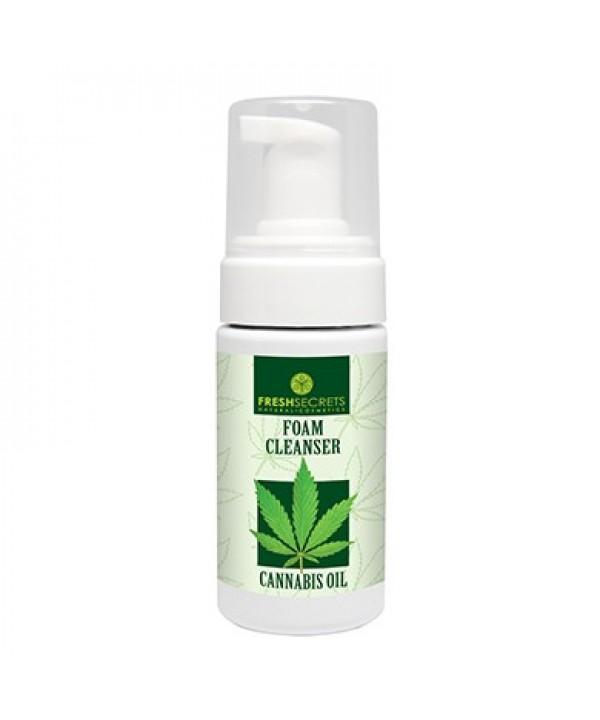 Fresh Secrets Face Foam Cleanser With Cannabis Oil