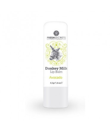 Fresh Secrets Lip balm with Donkey milk & Avocado
