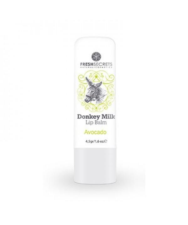 Fresh Secrets Lip balm with Donkey milk & Avocado