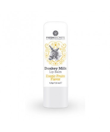 Fresh Secrets Lip balm with Donkey milk & Exotic Fruits