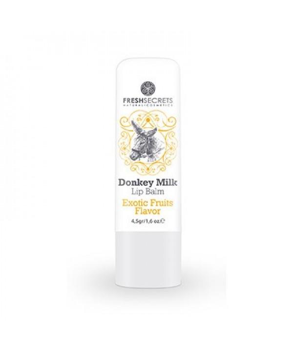 Fresh Secrets Lip balm with Donkey milk & Exotic Fruits