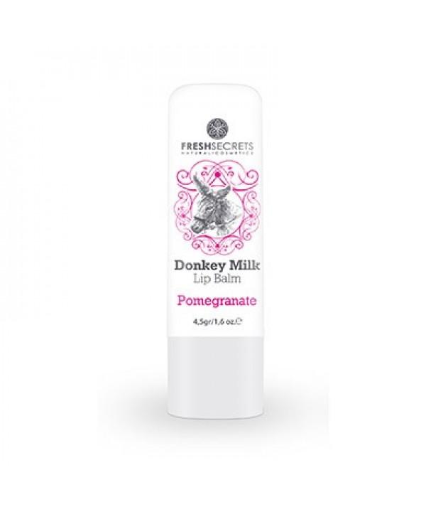 Fresh Secrets Lip balm with Donkey milk & Pomegranate