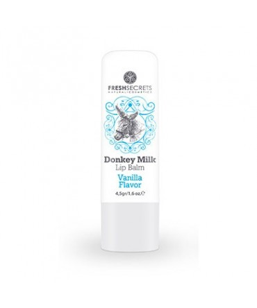 Fresh Secrets Lip balm with Donkey milk & Vanilla