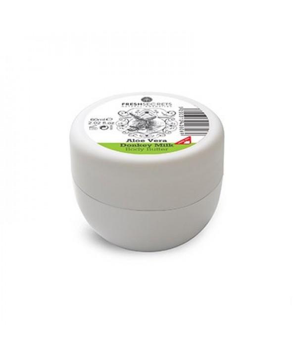 Fresh Secrets Body Butter with Donkey Milk & Aloe Vera