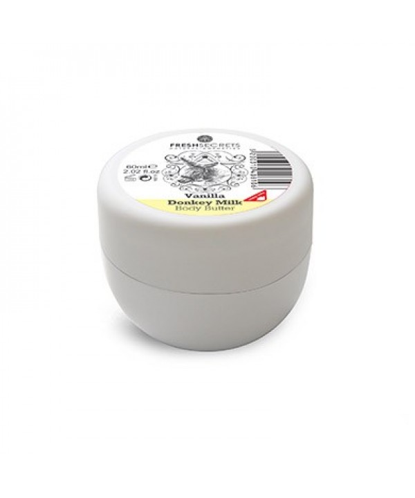 Fresh Secrets Body Butter with Donkey Milk & Vanilla