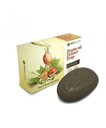 Fresh Secrets Bridge Soap for Face and Body With Argan Oil